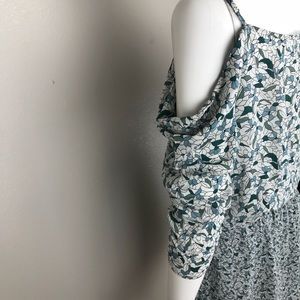 Young Fabulous & Broke Dresses - Young Fabulous Broke Floral Cold-Shoulder Dress